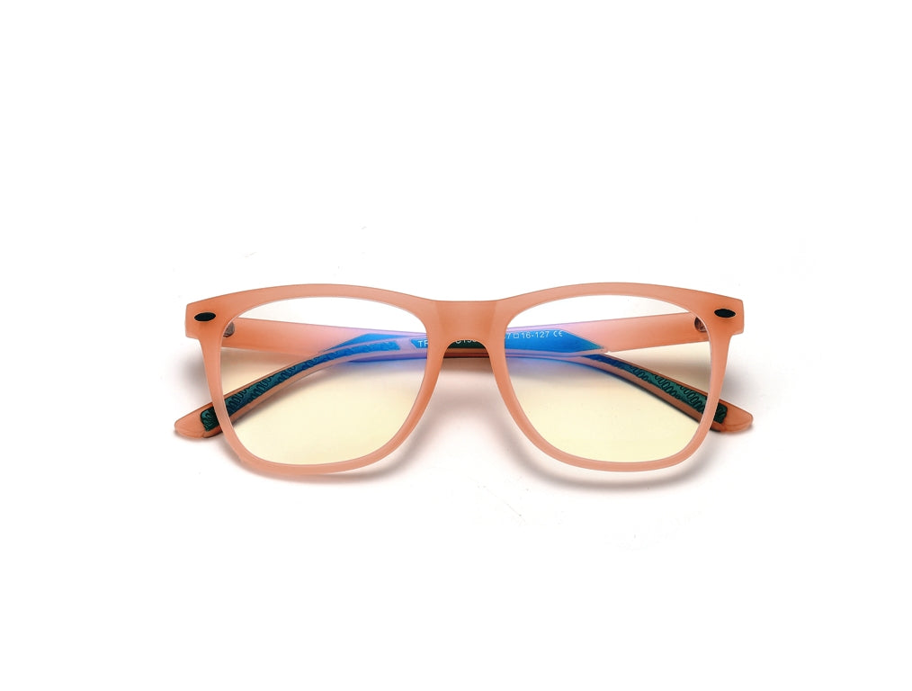 Kids-Unisex-Anti-Blue-Light-Glasses-Transparent-Orange-Front.jpg
