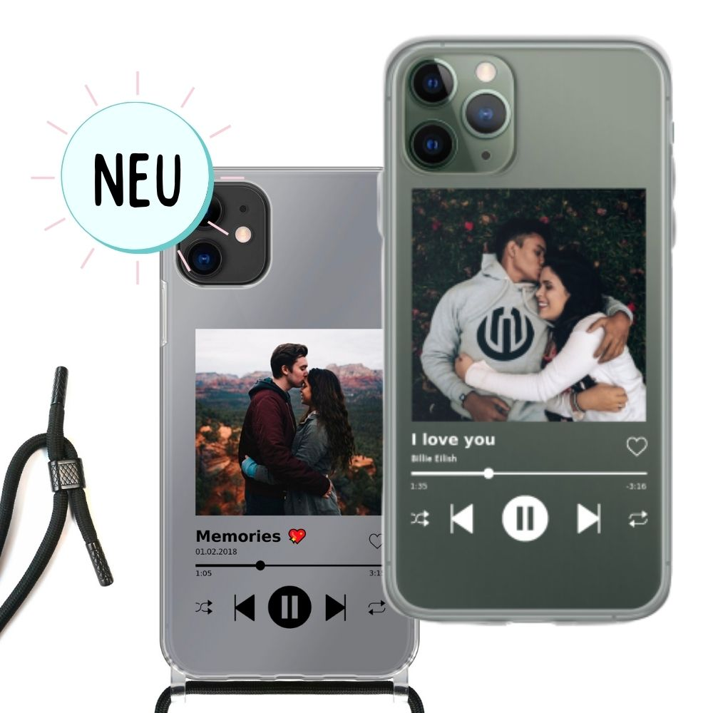 iPhone Handyhülle im Spotify Look