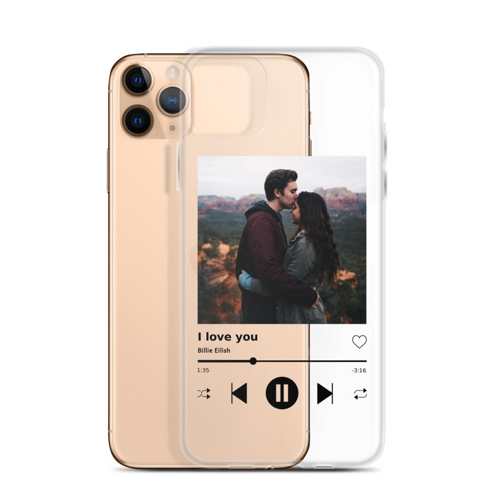 iPhone Handyhülle im Spotify Look - PinkSheeny