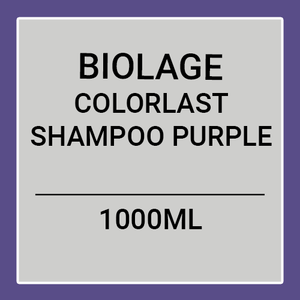 MATRIX BIOLAGE COLORLAST SHAMPOO PURPLE (1000ML)