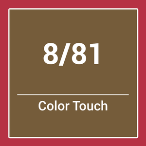 Wella  Color Touch Rich Naturals 8/81 (60ml)