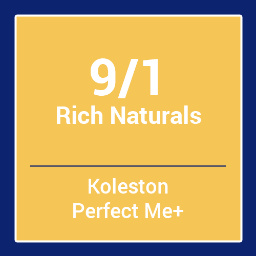 Wella  Koleston Perfect Me + Rich Naturals 9/1 (60ml)
