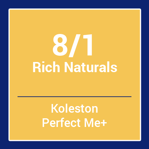 Wella  Koleston Perfect Me + Rich Naturals 8/1 (60ml)
