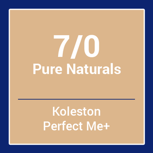 Wella  Koleston Perfect Me + Pure Naturals 7/0 (60ml)