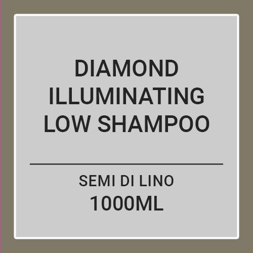 ALAPARF  SEMI DI LINO DIAMOND ILLUMINATING LOW SHAMPOO (1000ML)