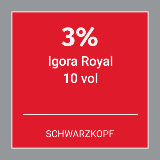 Schwarzkopf Igora Royal 3% 10 Vol 1000ml