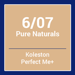 Wella  Koleston Perfect Me + Pure Naturals 6/07 (60ml)