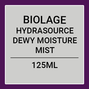 MATRIX BIOLAGE HYDRASOURCE DEWY MOISTURE MIST (125ML)
