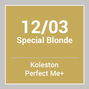 WELLA Koleston Perfect Me + Special Blonde 12/03 (60ml)