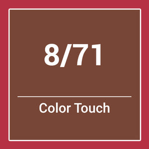 Wella  Color Touch Deep Browns 8/71 (60ml)
