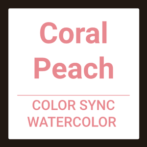 MATRIX Color Sync Watercolor - Coral Peach