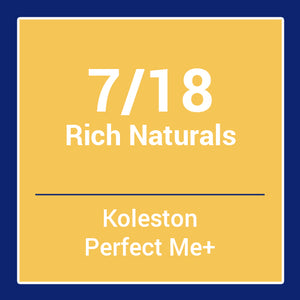 Wella  Koleston Perfect Me + Rich Naturals 7/18 (60ml)