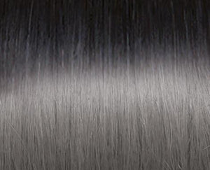 Seiseta -  1B/Silver -Keratin Russian Hair Extensions (20pack -Bonded)