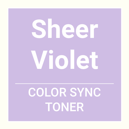 Matrix Color Sync Toner Sheer Violet (90ml)
