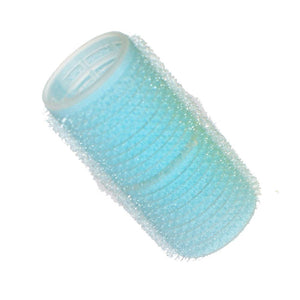 HairTools - Cling Rollers Light Blue 28mm