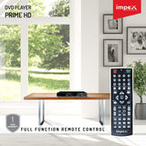 Impex PRIME HD 5.1Ch DVD Player with Mic input, USB Copy Function and HDMI Output Port 1080 p