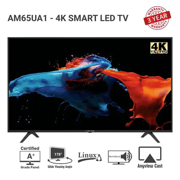"Amstrad LED TV - AM65UA1(65""inch)"