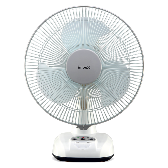 Impex Solar Rechargable Table Fan - Breeze D3