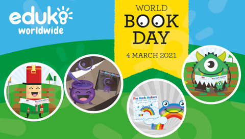 Eduk8 Worldwide The Mark Makers World Book Day 2021