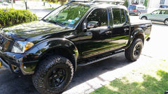 Nissan Frontier Gen 2 Rock Sliders, Level II (2005+)