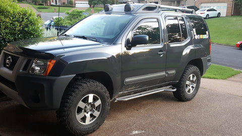 Nissan Xterra Gen 2 Rock Sliders, Level III (2005+)