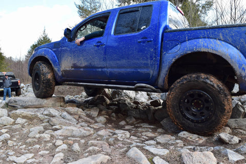 Nissan Frontier Gen 2 Rock Sliders, Level III (2005+)