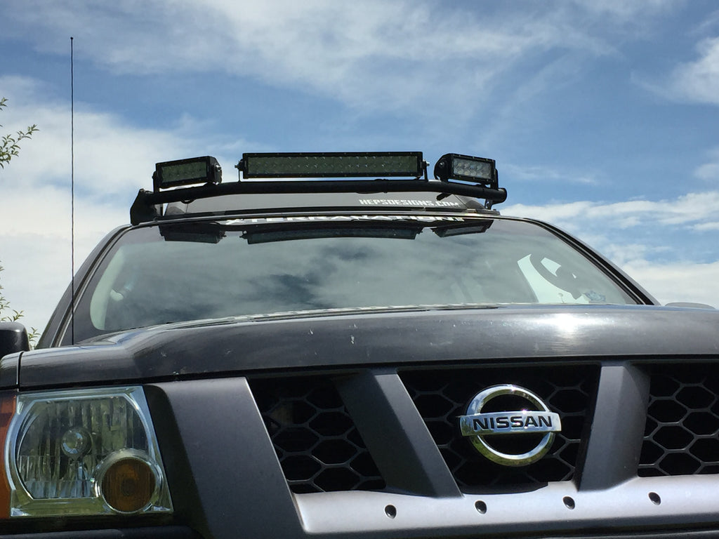 2nd Gen (2005+) Nissan Xterra Wrap Around Light Bar Mount ...