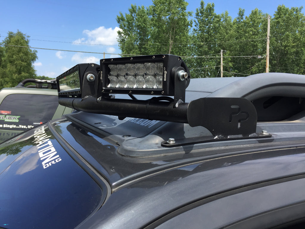 2nd Gen 2005 Nissan Xterra Wrap Around Light Bar Mount