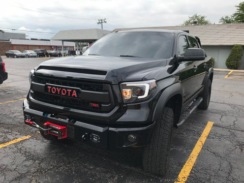 2014 - 2017 Toyota Tundra Titus Front Low Pro Winch Bumper
