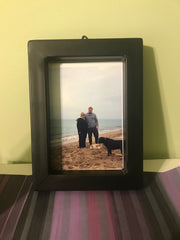 Square tube picture frame
