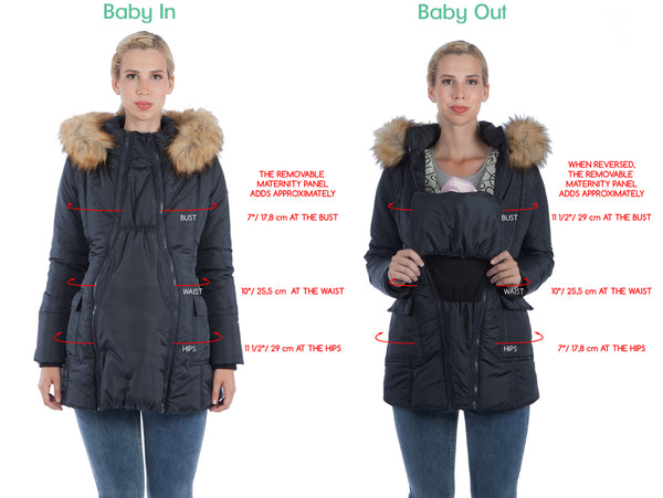 Maternity Coat size guide
