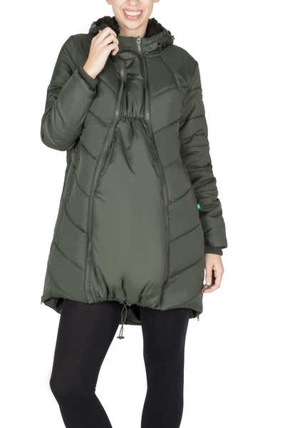 3-in-1 Maternity Coat waterproof