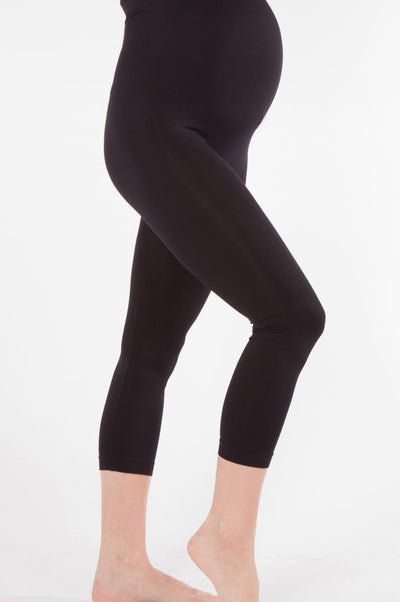 black legging for pregnant women high waist