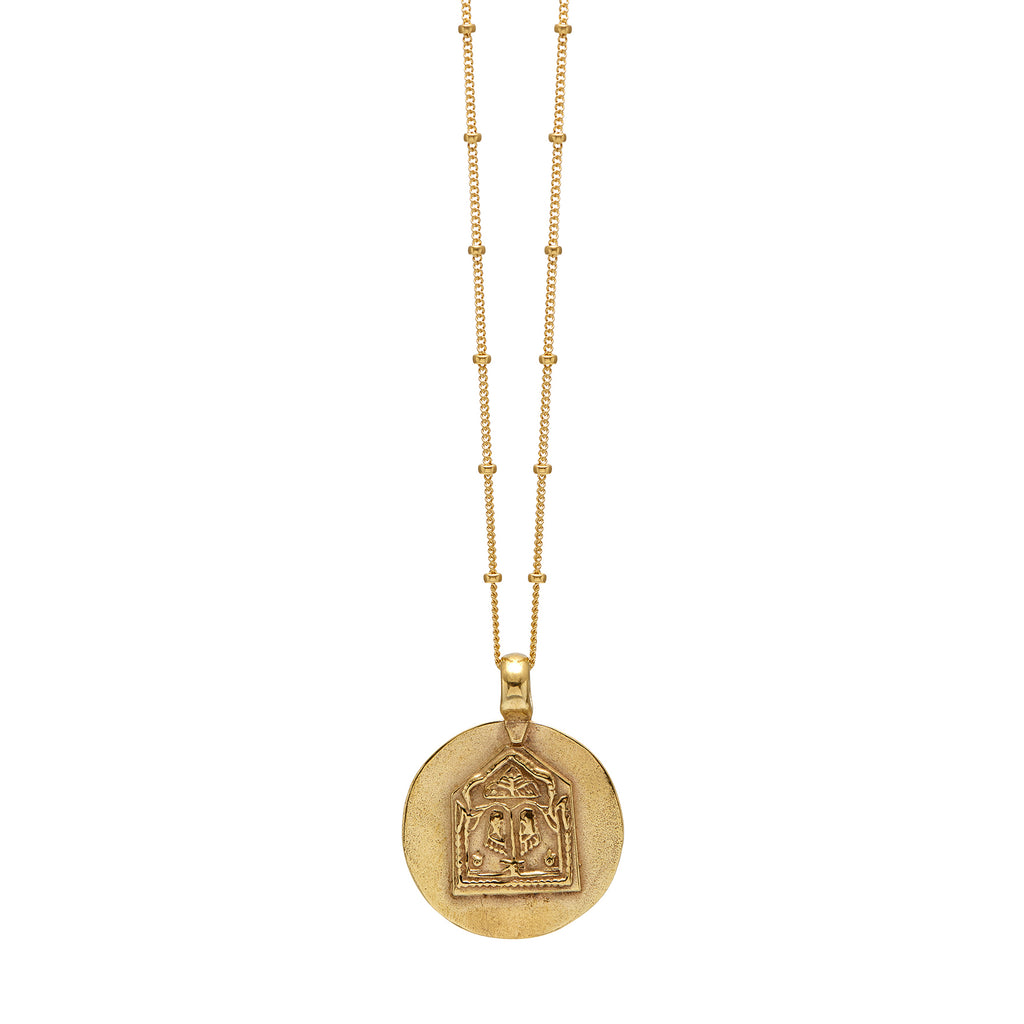 Lakshmi Amulet Necklace