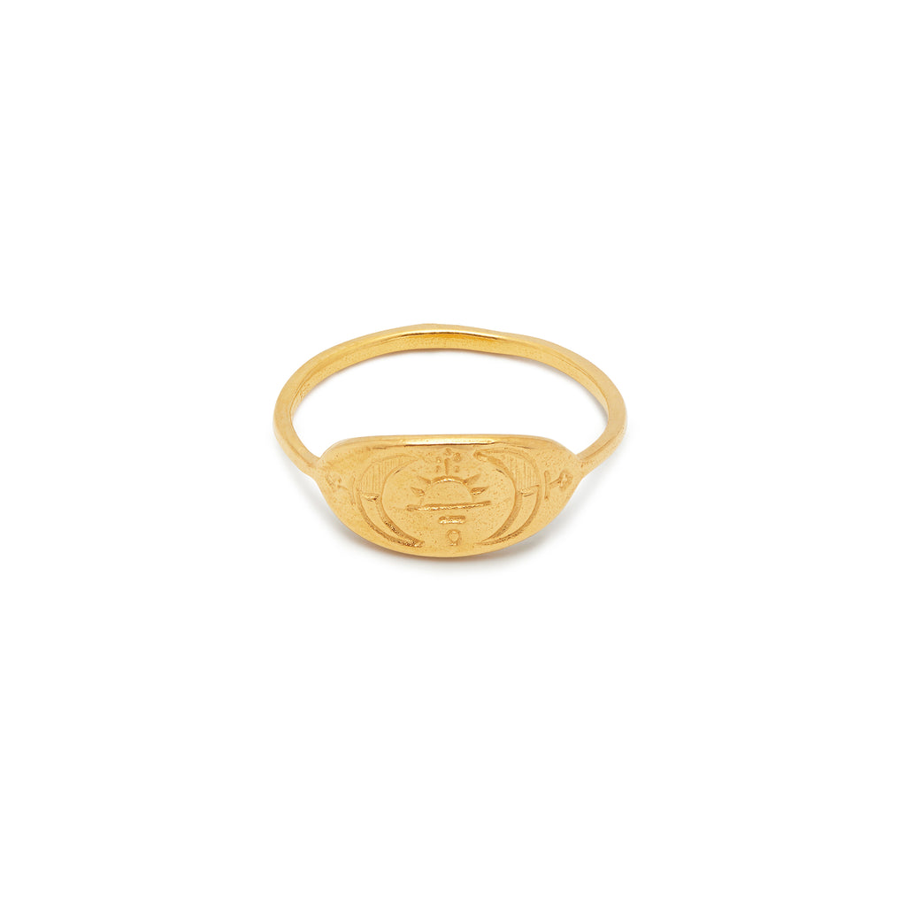 Astrid Ring in Gold