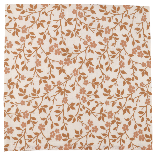 Magnolia Tree Swaddle - Brown