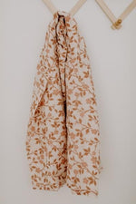 Load image into Gallery viewer, Magnolia Tree Swaddle - Brown