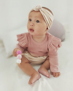 Lila Bloomer & Headband Set