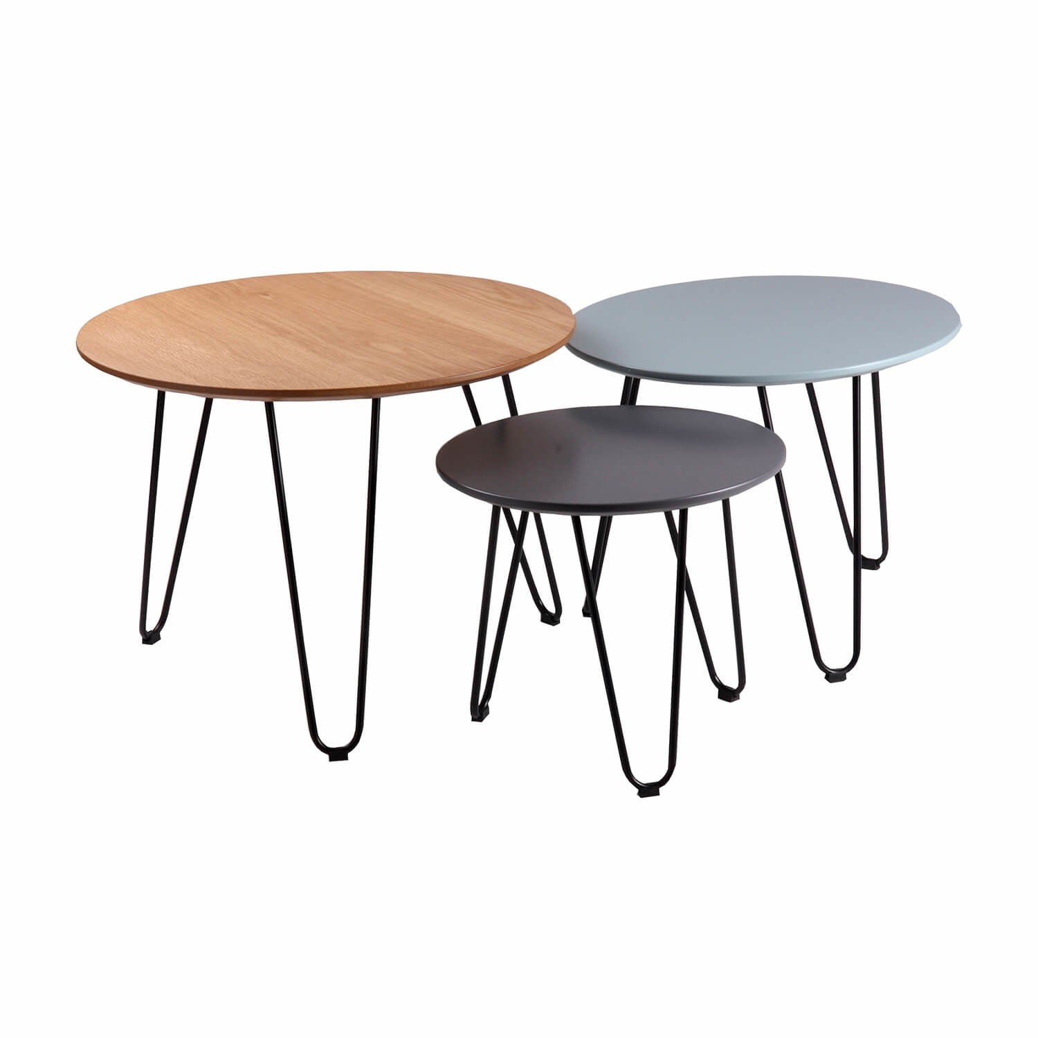 Nero SET Salontafel trio