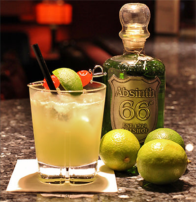 Absinth Cocktail: 66® Sour