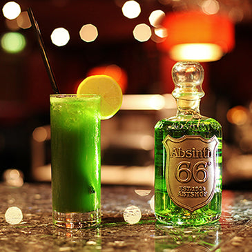 Absinth Cocktail: Tiger Eye 66®