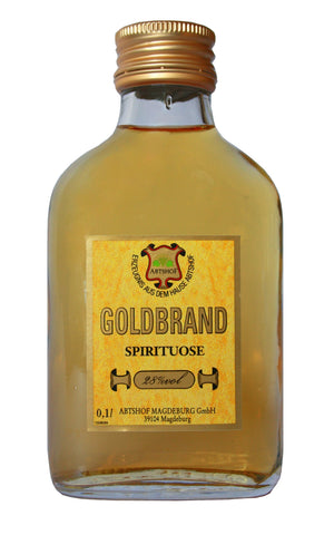 Goldbrand  - 0,1 L / 28% vol. Weinbrand