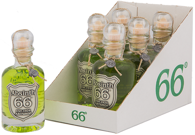 Absinth 66® Mini 6x40ml