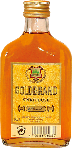 Goldbrand  - 0,2 L / 28% vol. Weinbrand