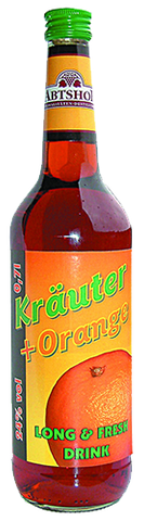 Kräuter + Orange - 0,7 L / 24% vol. Likör