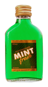 Mint fresh - Pfefferminzlikör - 0,1 L / 20% vol.