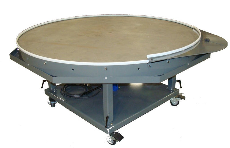 "72"" Rotary Table - Stainless Steel Top"