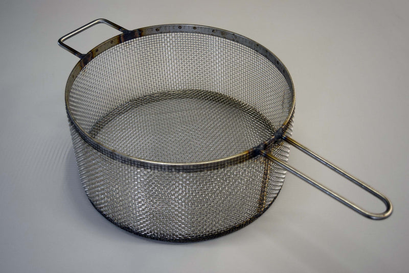 "MiJET Parts Basket, 2 handles, Fine mesh for 12"" Flat Top"