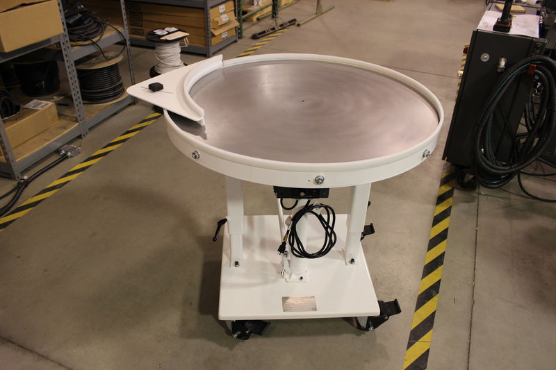 "36"" Rotary Table - Mild Steel Top"