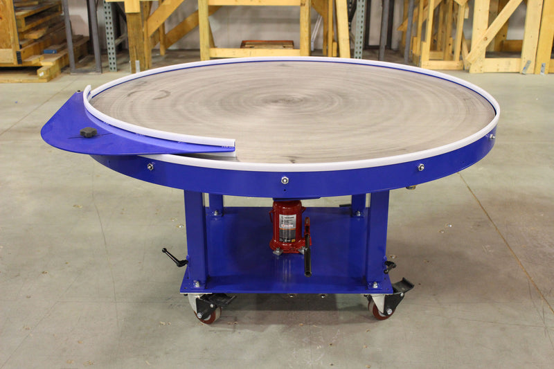 "60"" Rotary Table - Stainless Steel Top"
